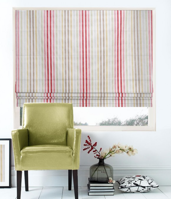 What are Roman blinds?
