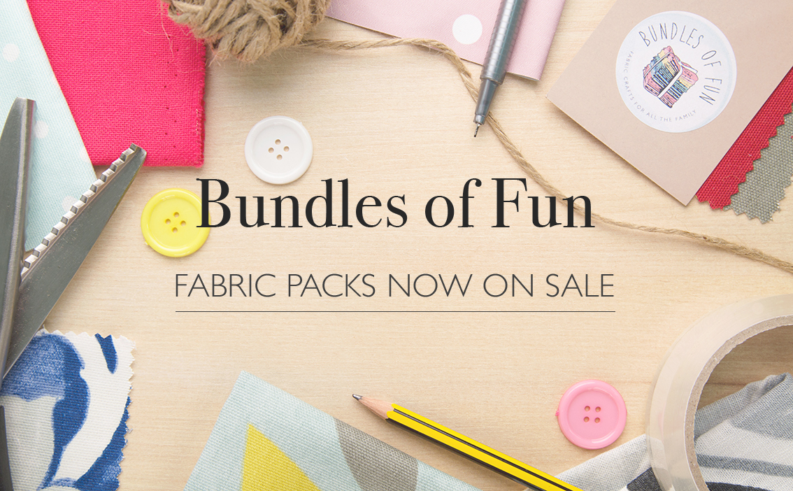 Bundles of fun fabric packs now on sale