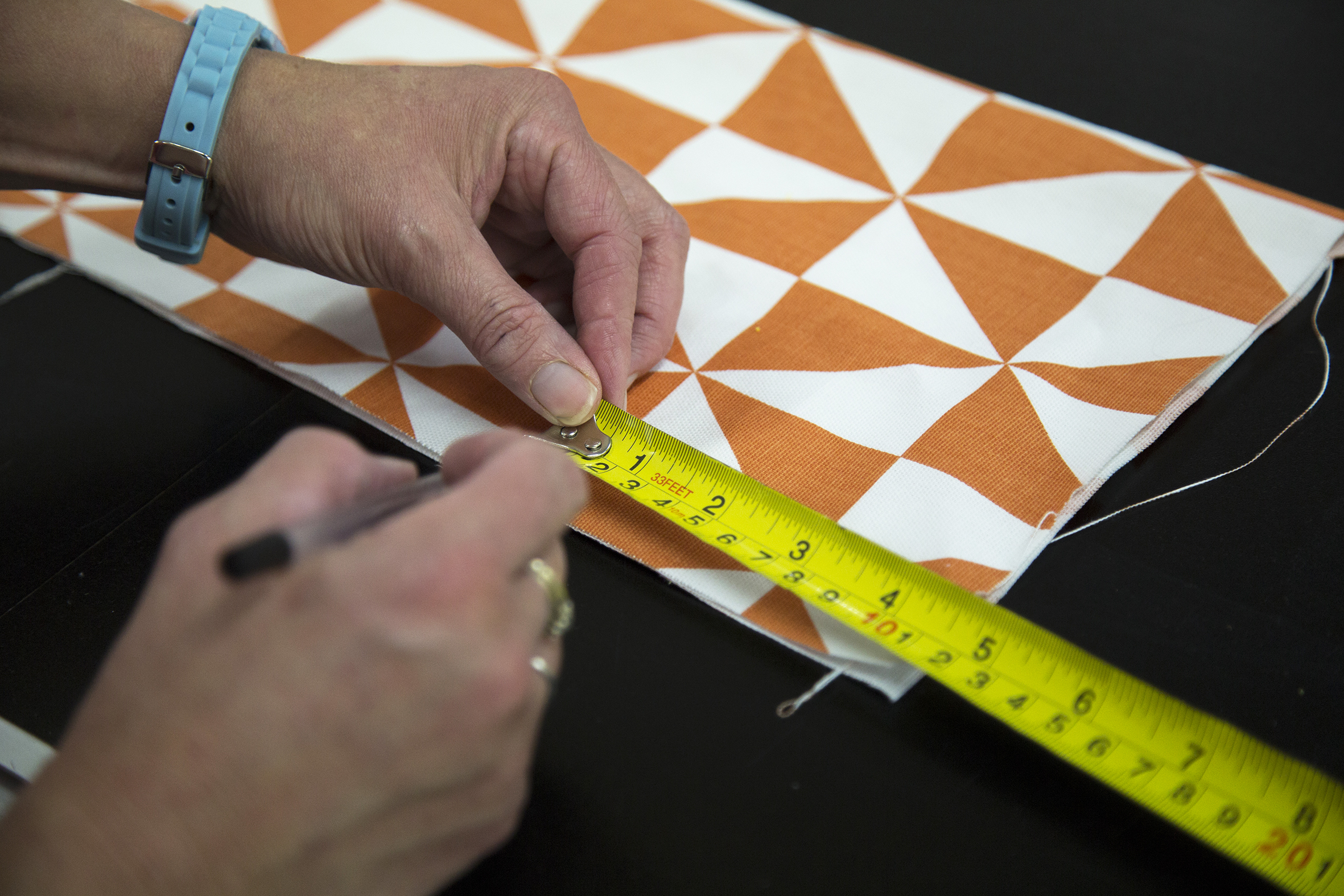 Measuring your bunting