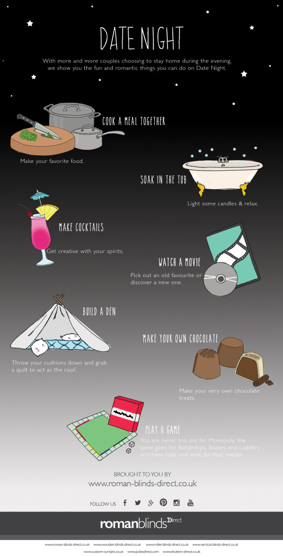 Date Night infographic